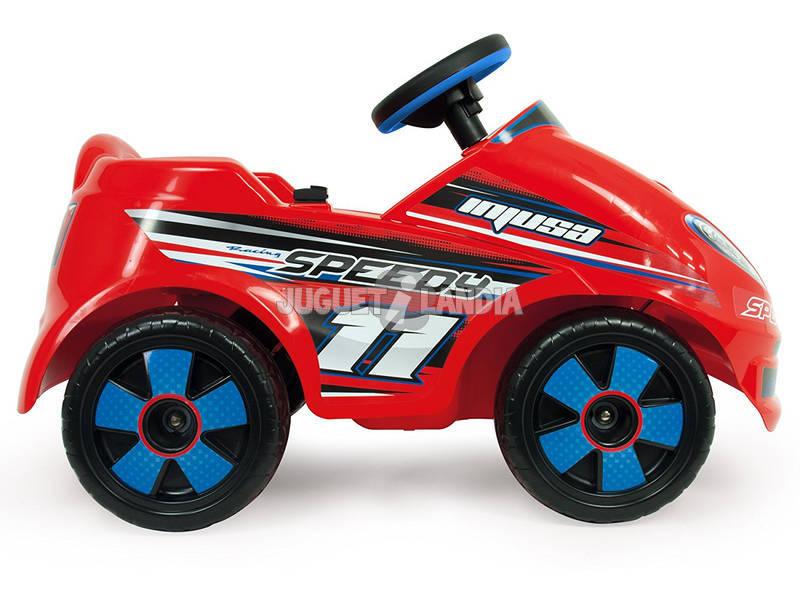 acheter voiture batterie racing speedy 6v injusa 7141 juguetilandia. Black Bedroom Furniture Sets. Home Design Ideas