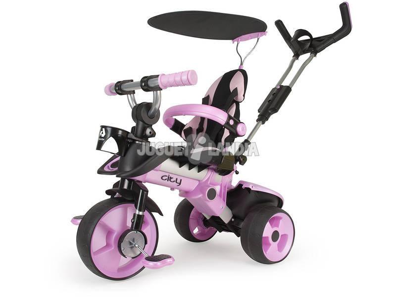 Triciclo Evolutivo City Rosa Injusa 3262