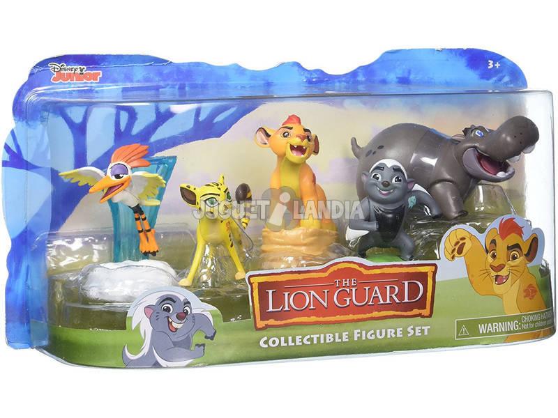 A Guarda do Leão Set 5 Figuras