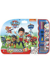 Giga Block 5 in 1 Paw Patrol Cefa Toys 21806
