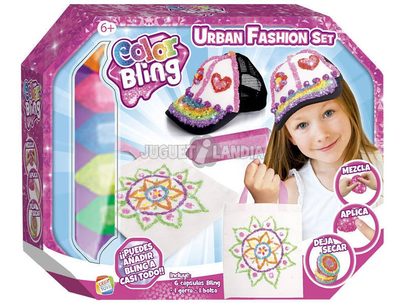Color Bling Set Urban Fashion Cefa Toys 21782