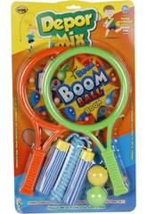 Racchette 32x18 cm Boom Boom 2 in 1