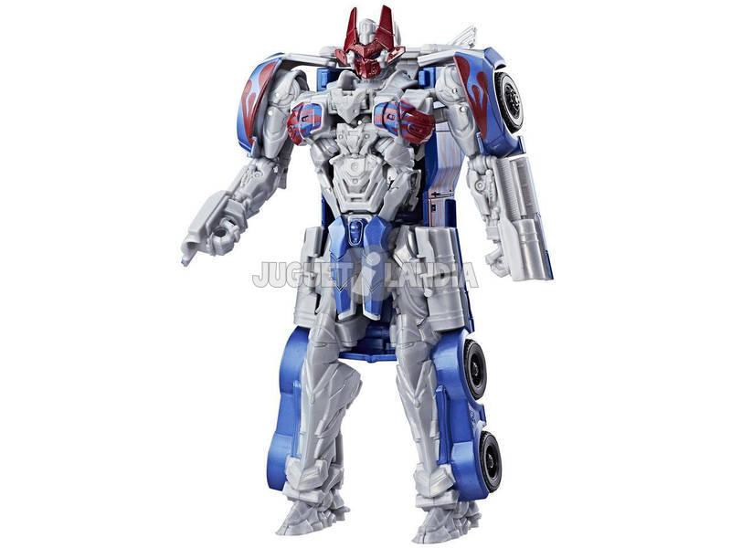 Figuras Transformers 5 Armor Up Turbo Rangers Sortido 20 cm HASBRO C0886