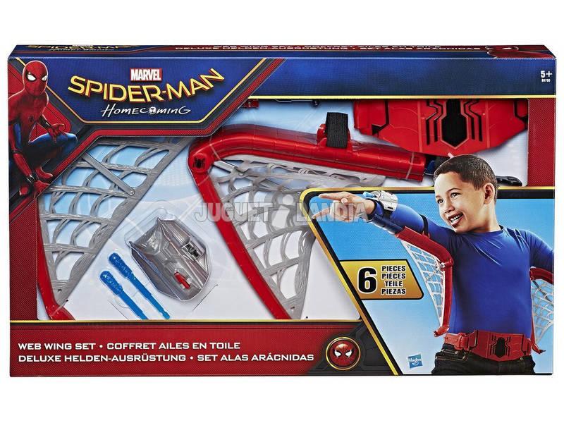 Acessório Spiderman Asas Lança Mísseis Hasbro B9700