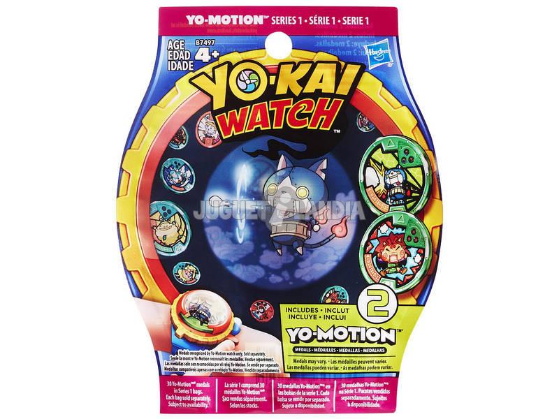 Yokai Watch Envelope Surpresa Medalha Yo - motion Hasbro B7497