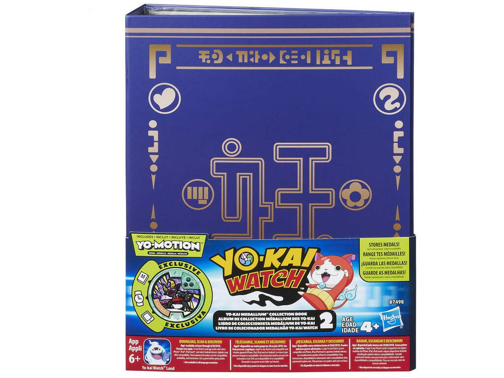 Yokai Watch Album de Colección Medallium 2 Hasbro B7498