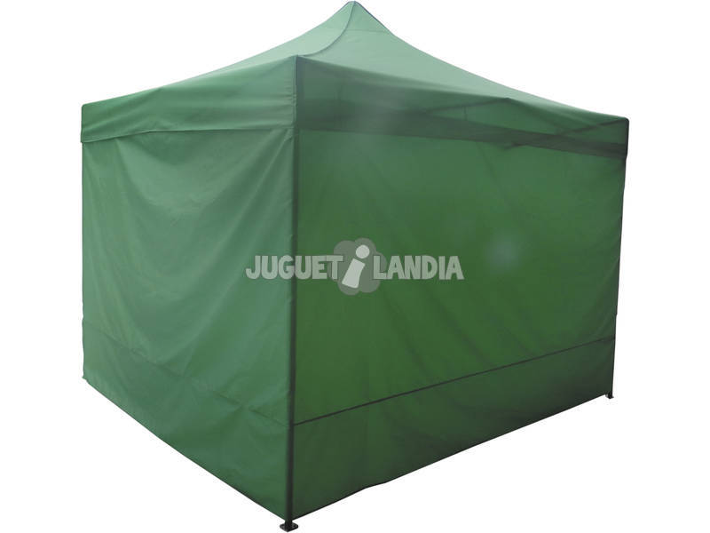 Laterales Gacebo Verde 3x3 m.4 unidades