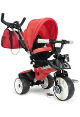Tricycle Evolution City Max Rouge Injusa 3271