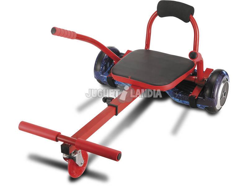 acheter remorque hoverboard 3 roues avec si ge et freins juguetilandia. Black Bedroom Furniture Sets. Home Design Ideas