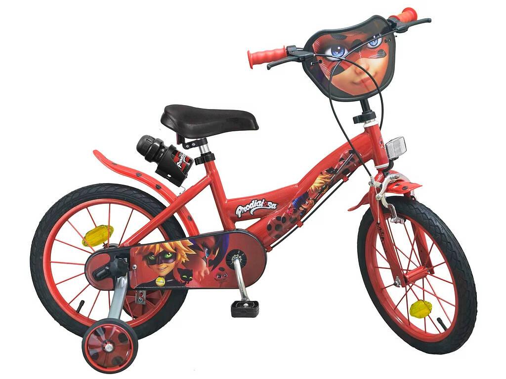 Bicicleta 16 Prodigiosa Ladybug Toimsa 1691