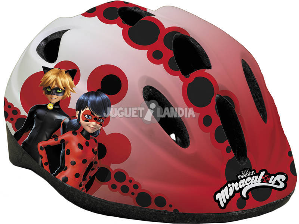 Capacete Prodigiosa Ladybug Toimsa 10908