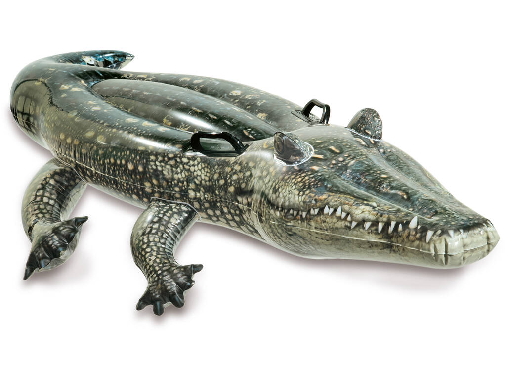 Crocodilo Insuflável 170x86cm. Intex 57551
