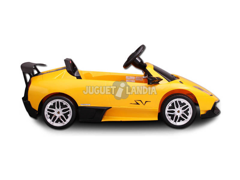 acheter lamborghini murcielago 6v radio contr le juguetilandia. Black Bedroom Furniture Sets. Home Design Ideas
