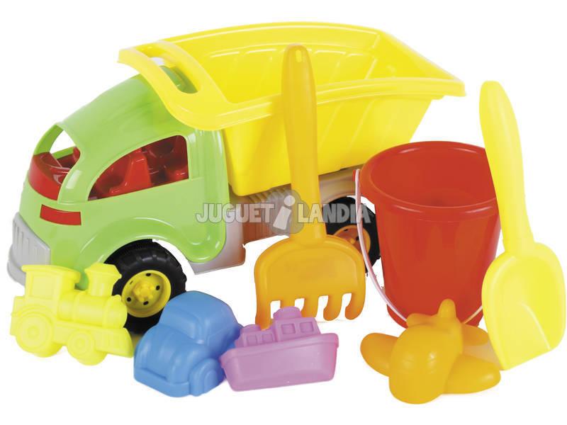 Camión Playa 33 cm. Con Accesorios
