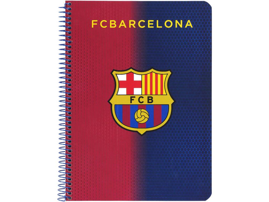 Caderno Capas Duras 80 h. F.C. Barcelona Oficial
