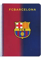 Libreta Tapas Duras 80 h. F.C. Barcelona Oficial