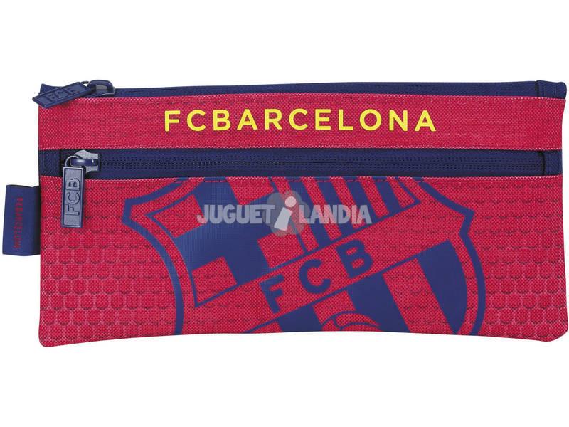 Estojo Porta Tudo Duplo F.C. Barcelona Oficial