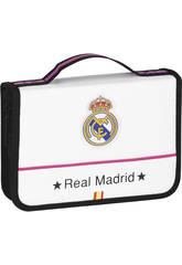 Maletín Dibujo 34 Piezas Real Madrid Oficial