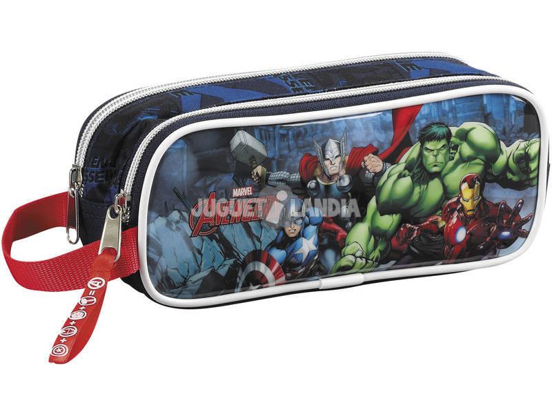 Estuche Portatodo Doble Vengadores Marvel