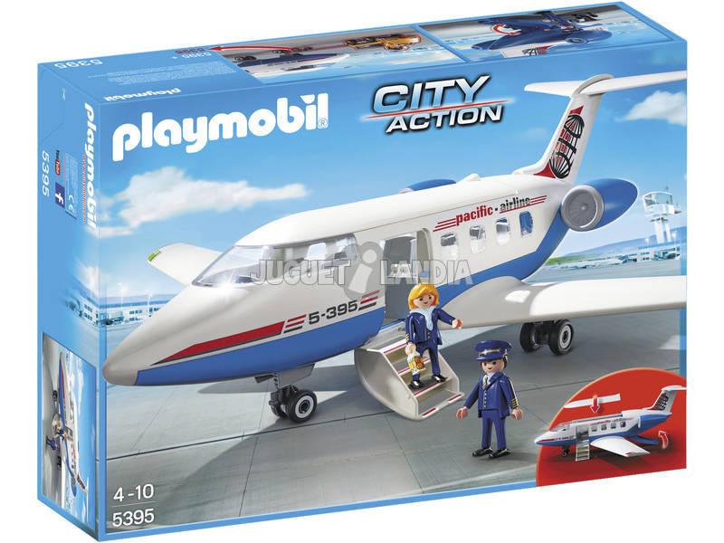 Aeronave de Passageiros Playmobil 5395
