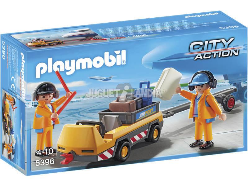 Veículo de bagagem Playmobil 5396