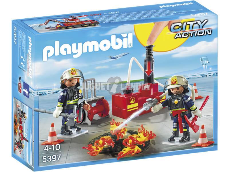Equipamento de Incêndio Playmobil