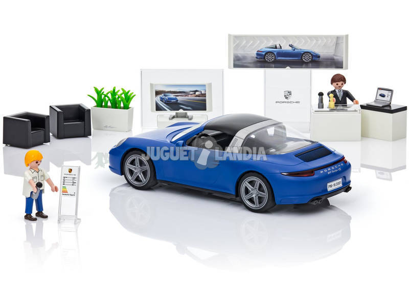 playmobil porsche 911 targa 4s juguetilandia. Black Bedroom Furniture Sets. Home Design Ideas