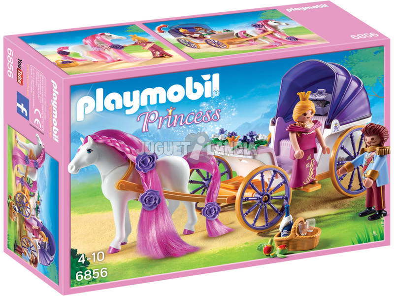Playmobil Couple Royal avec Calèche 6856