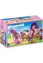 imagen Playmobil Couple Royal avec Calèche 6856