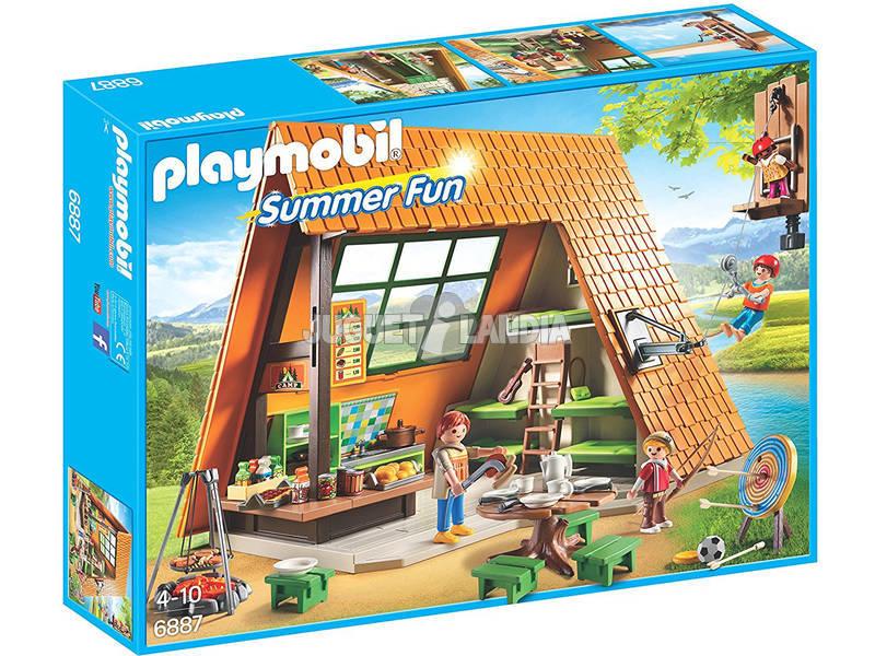 Cabine de Camping Playmobil