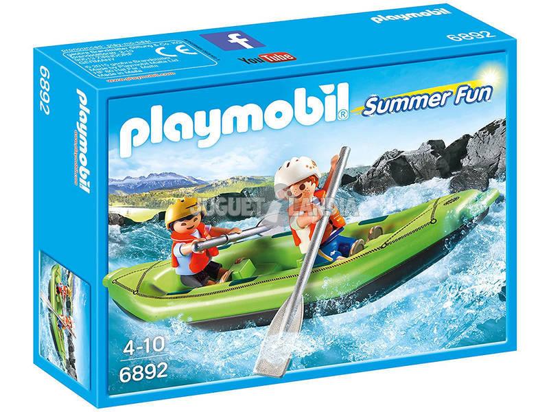 Playmobil Crianças em Jangada