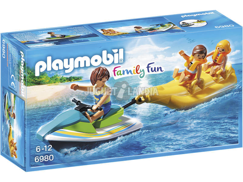 Playmobil Water Bike com Banana 6980