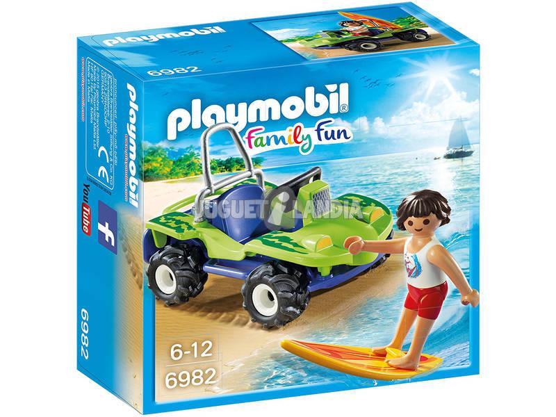 Playmobil Surfista con Buggy