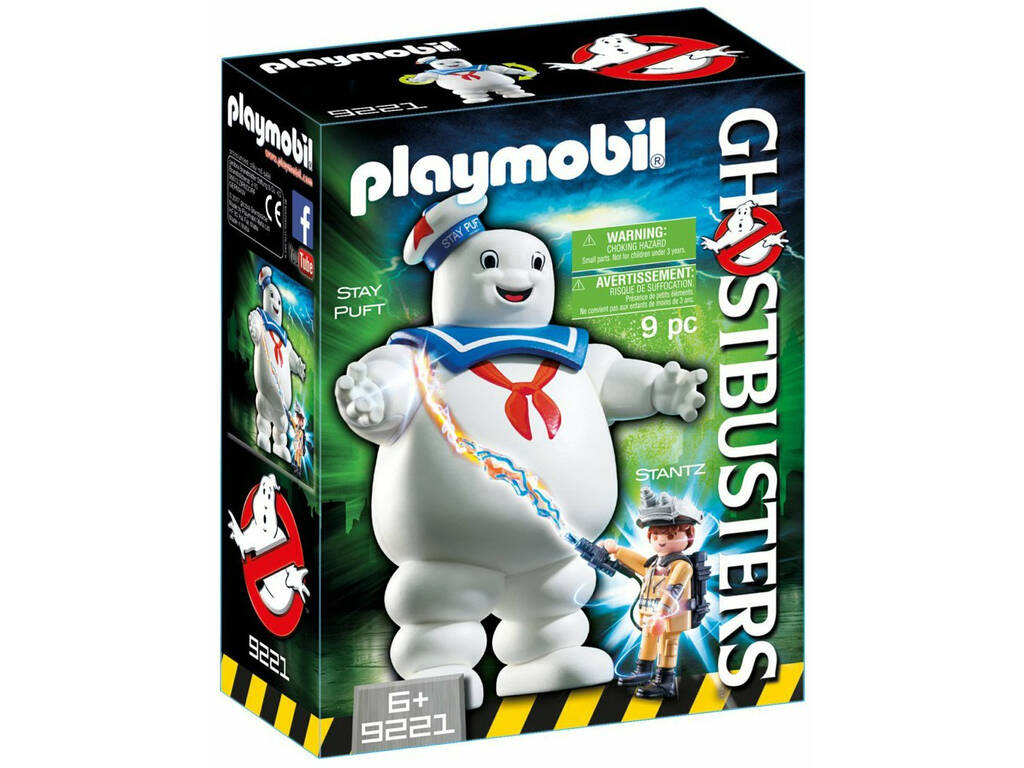 Playmobil Marshmallow Ghostbusters 9221