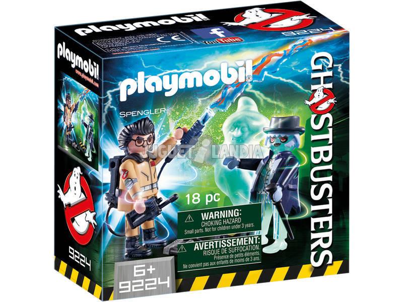 Playmobil Spengler e Ghostbusters Ghost 9224