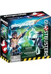 Playmobil Spengler und Gespenst Ghostbusters 9224