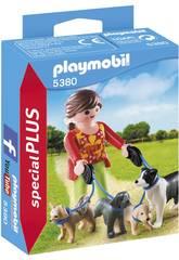 imagen Playmobil Mujer con Perros