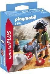 Playmobil Chercheur de Cristaux 5384