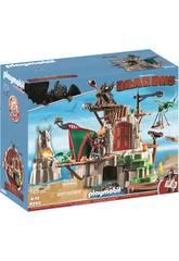 Playmobil Dragons Campement de l'île de Beurk 9243