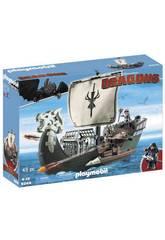 Playmobil Como Entrenar a Tu Dragón Barco de Drago 9244
