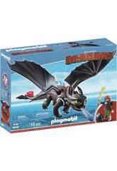 Playmobil Dragons Harold et Krokmou 9246