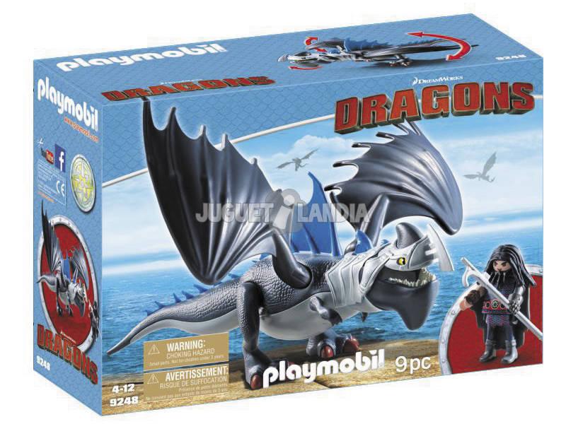Playmobil Como Treinar o Seu Dragão Drago e Dragão com Armadura 9248