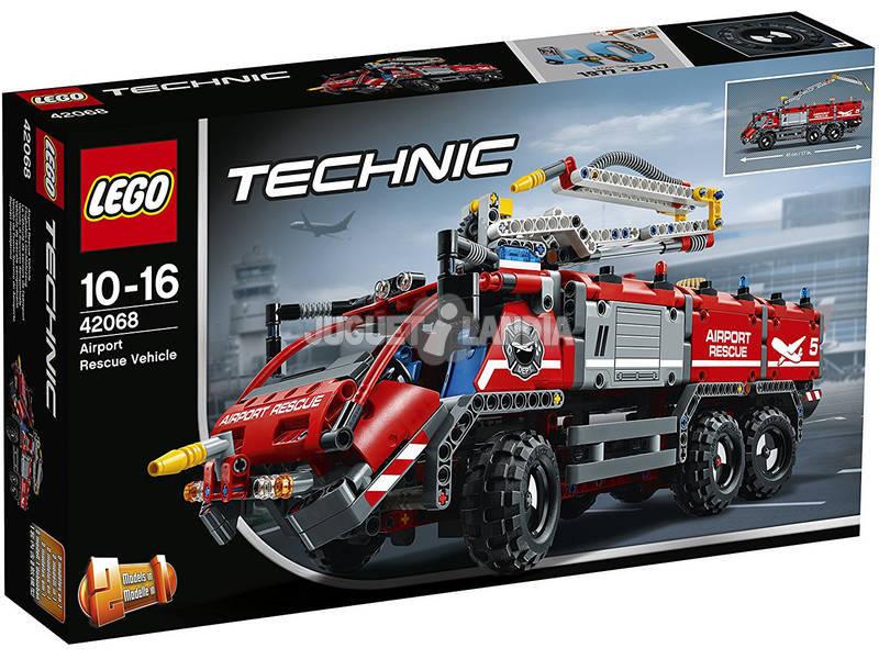 Lego Technic Aeroporto Veículo de Resgate 42068