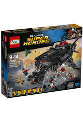 Lego SH Flying Fox, Attaque Aérienne de la Batmobile
