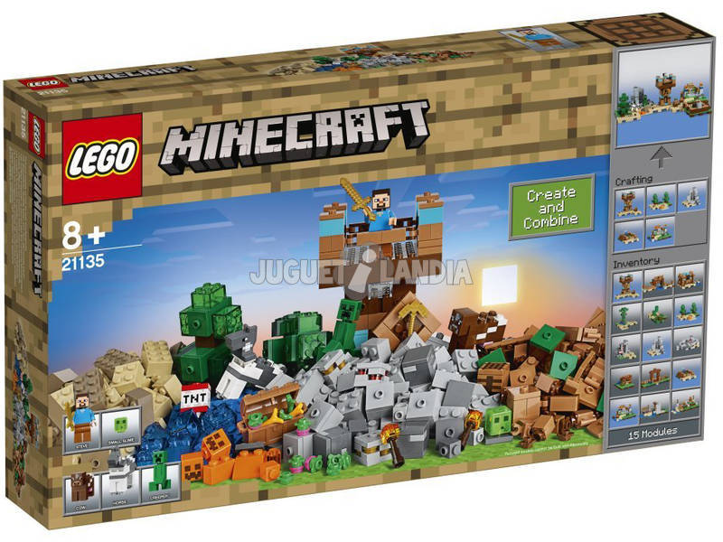 Lego Minecraft Caja Modular 2.0 Lego 21135