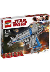 Lego Star Wars Bombardero De La Resistencia 75188