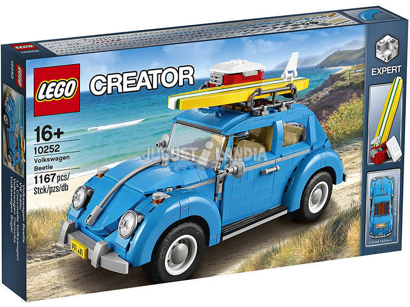 Lego Exclusivo Volkswagen Beetle 10252