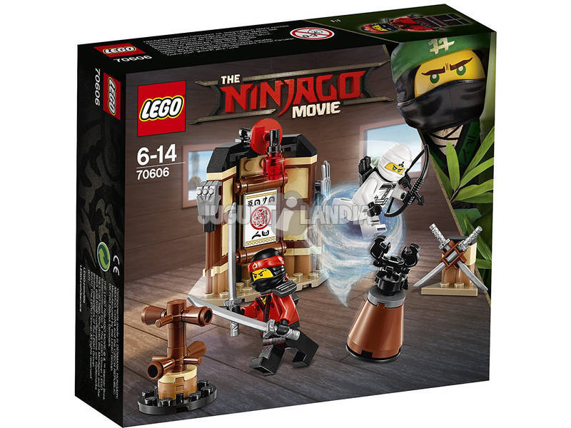 Área de Treinamento Lego Ninjago Spìnjitzu 70606