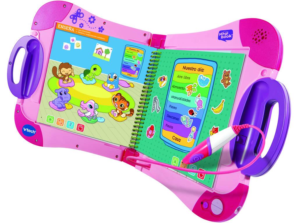 Multimédia Educativo Magi Book Rosa Vtech 602157