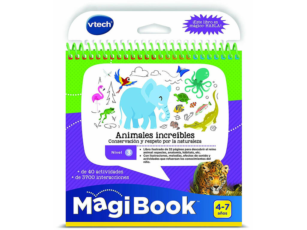 Animales Increíbles Magi Book Vtech 481022